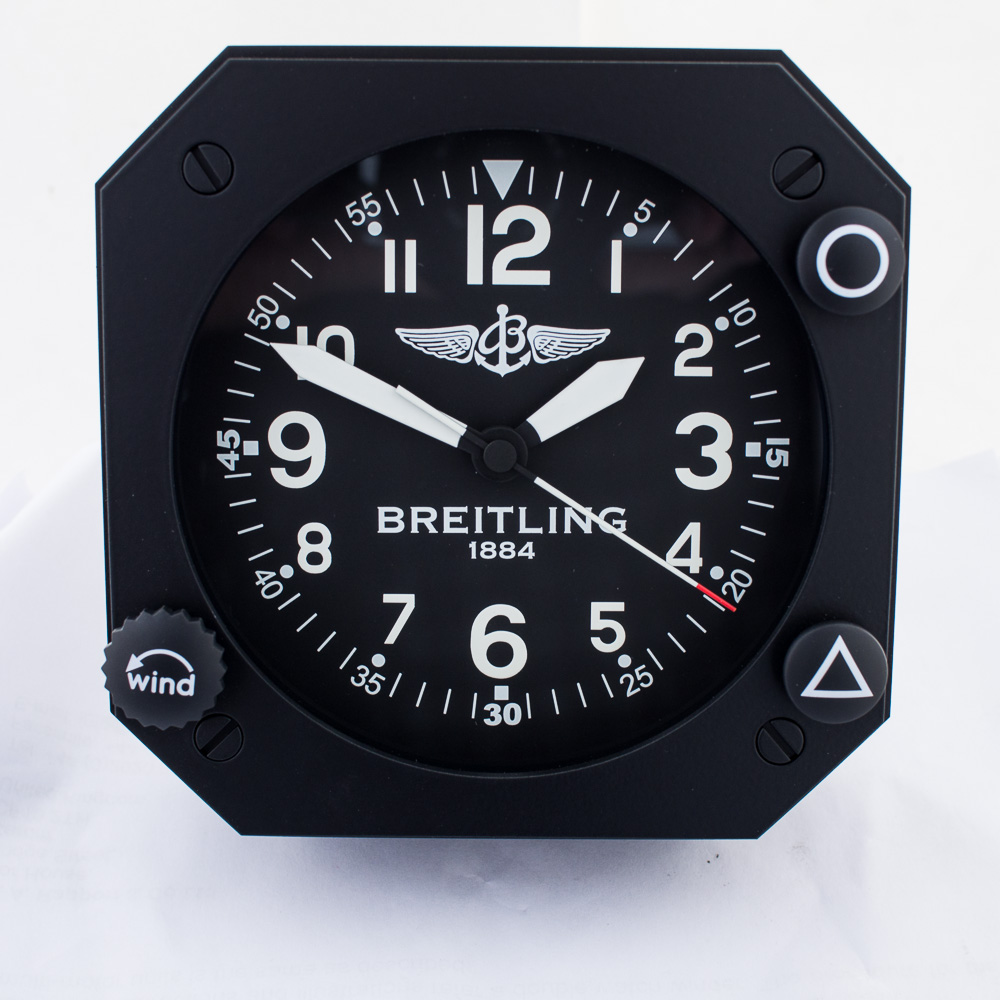 Breitling Table Clock Swiss Watch Box