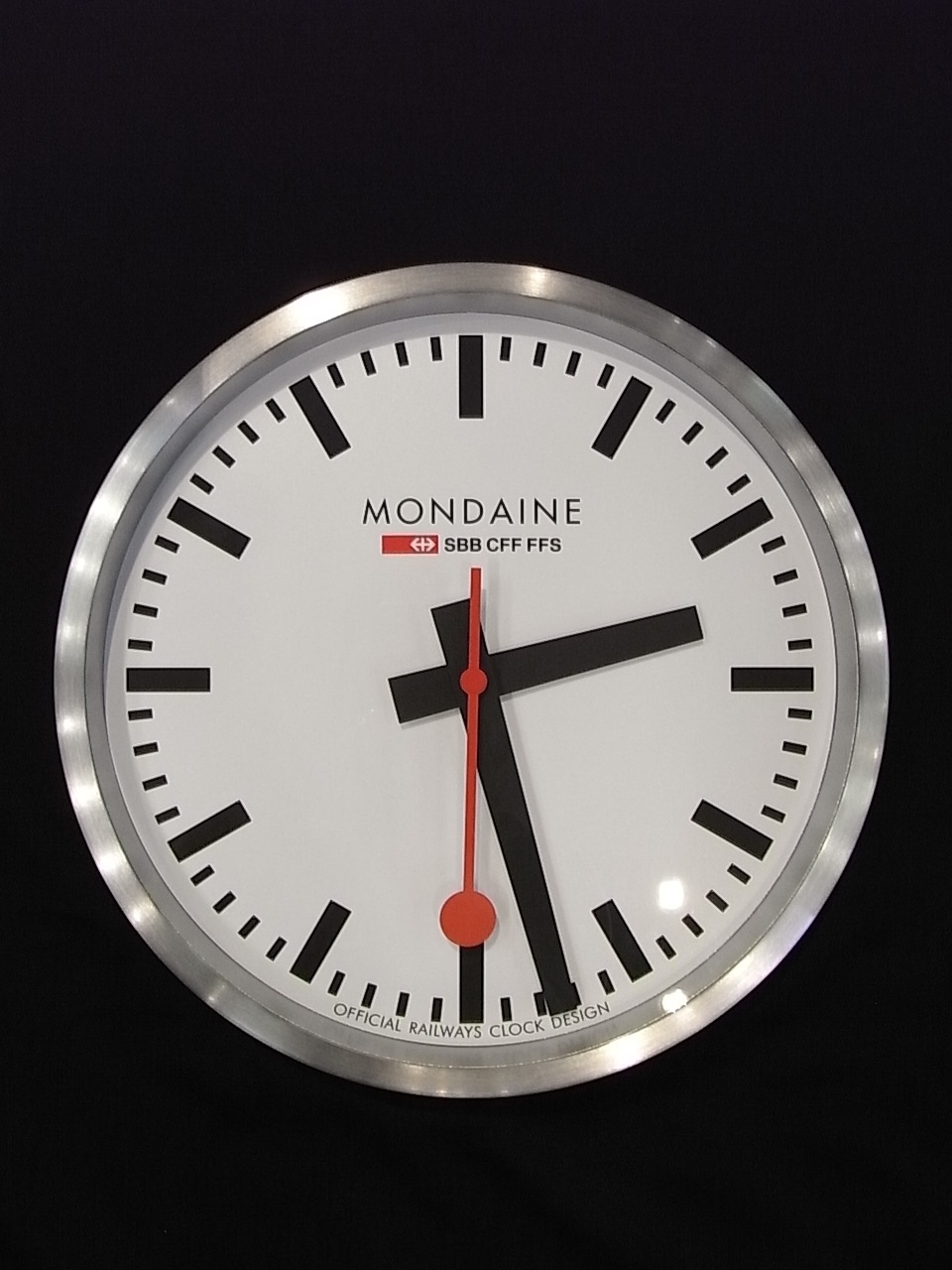 Mondaine Wall Clock Swiss Watch Box