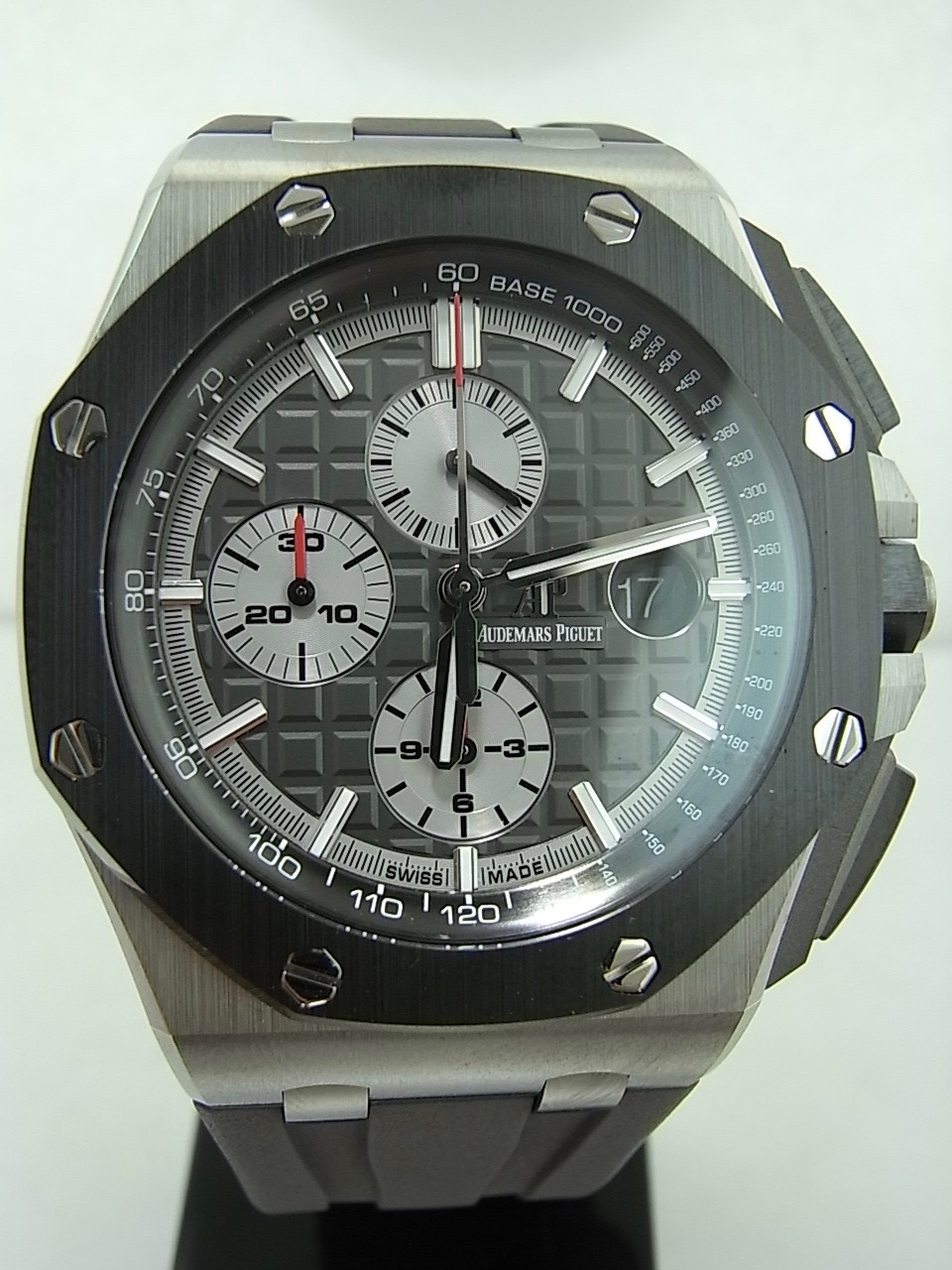 Audemars piguet royal oak offshore ceramic swiss watch box for Royal oak offshore ceramic