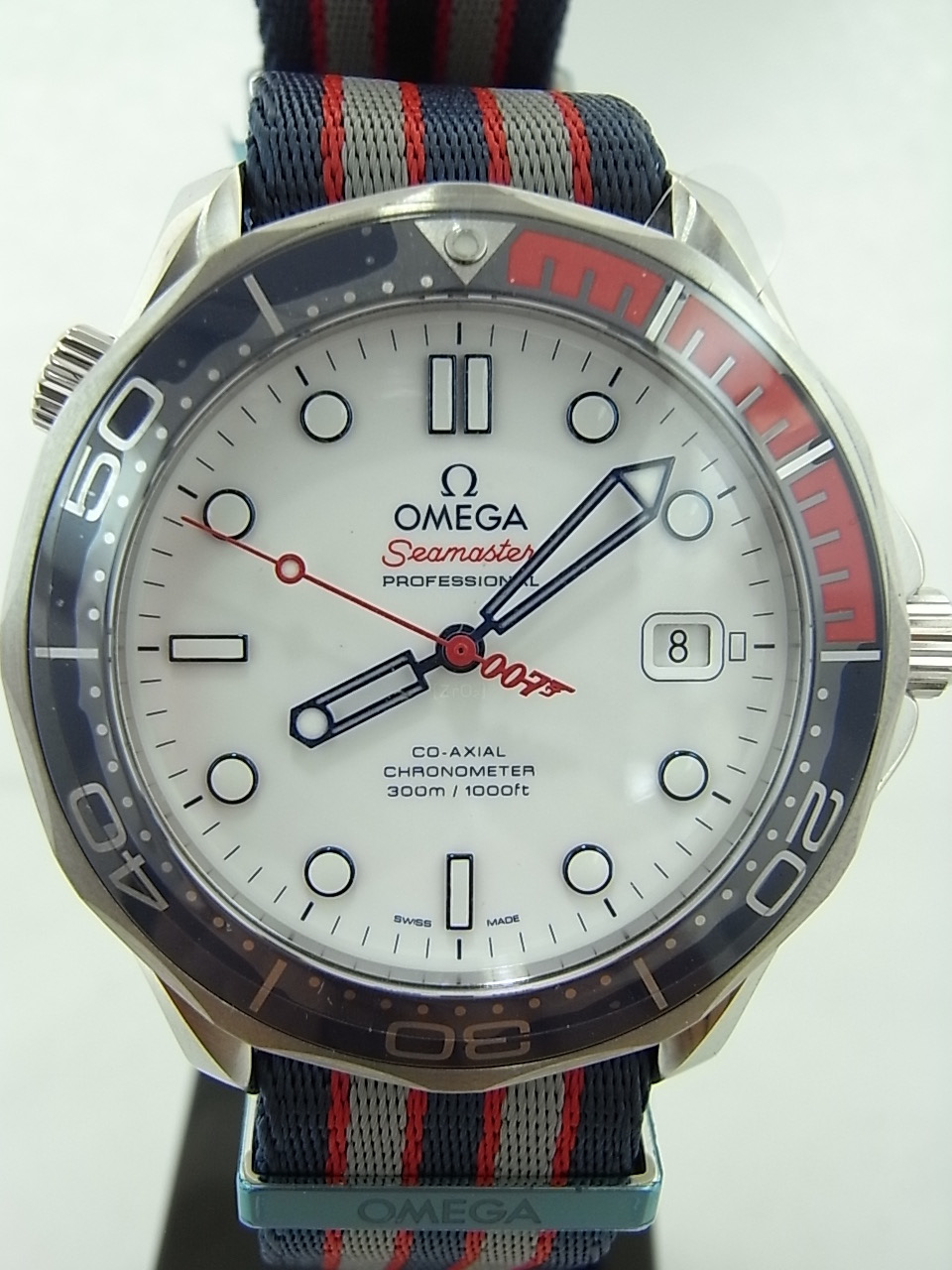 Omega seamaster diver 300m commander s watch le swiss watch box for Omega diver