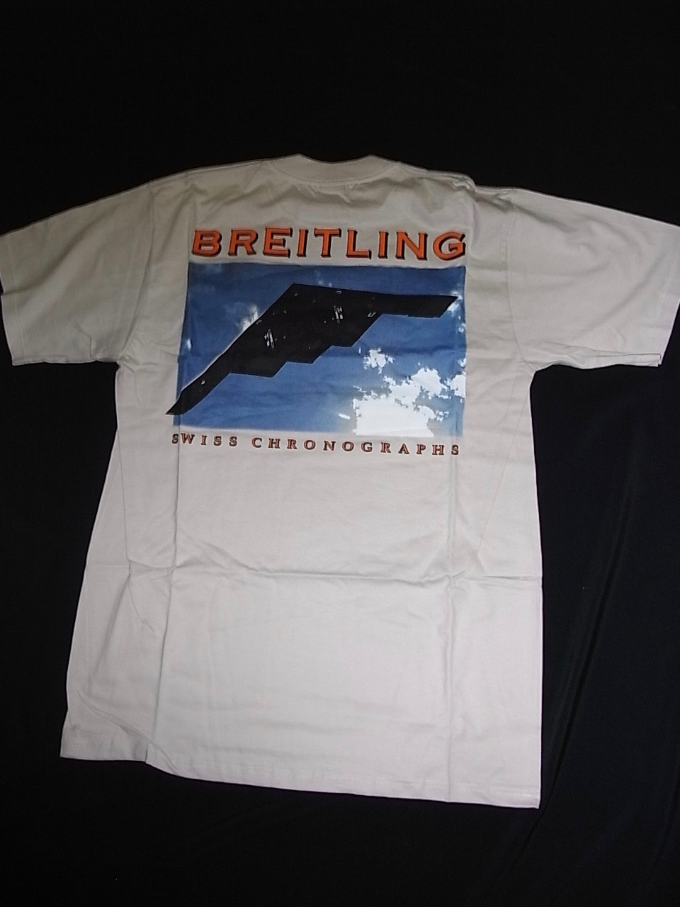 Breitling T Shirt Swiss Watch Box